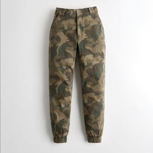 Hollister ultra high rise camouflage pants!